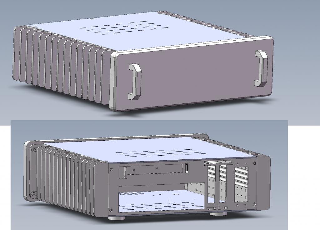 New HDPlex H3 passive case