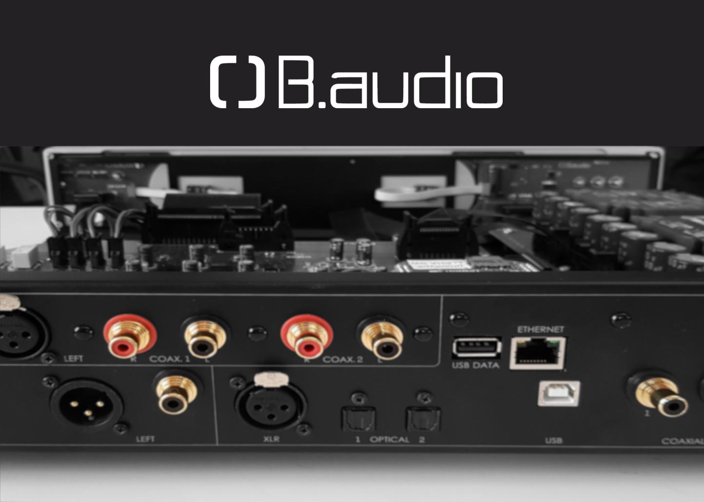 B.audio va offrir une option streamer et equalizer à sa gamme